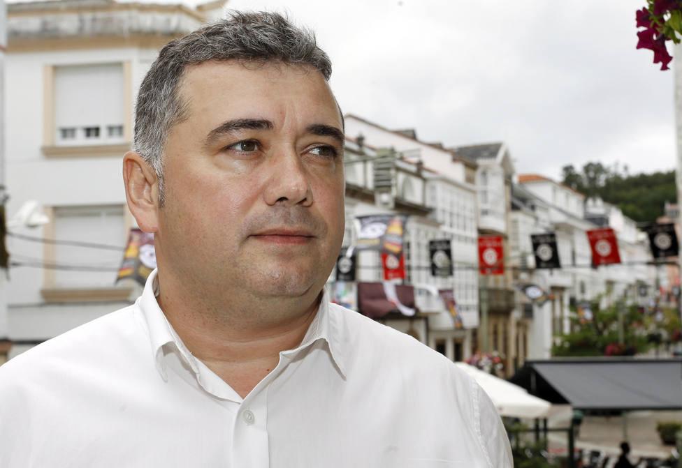 Foto de archivo del socialista Juan Penabad, alcalde de Ortigueira - FOTO: EFE / Kiko Delgado