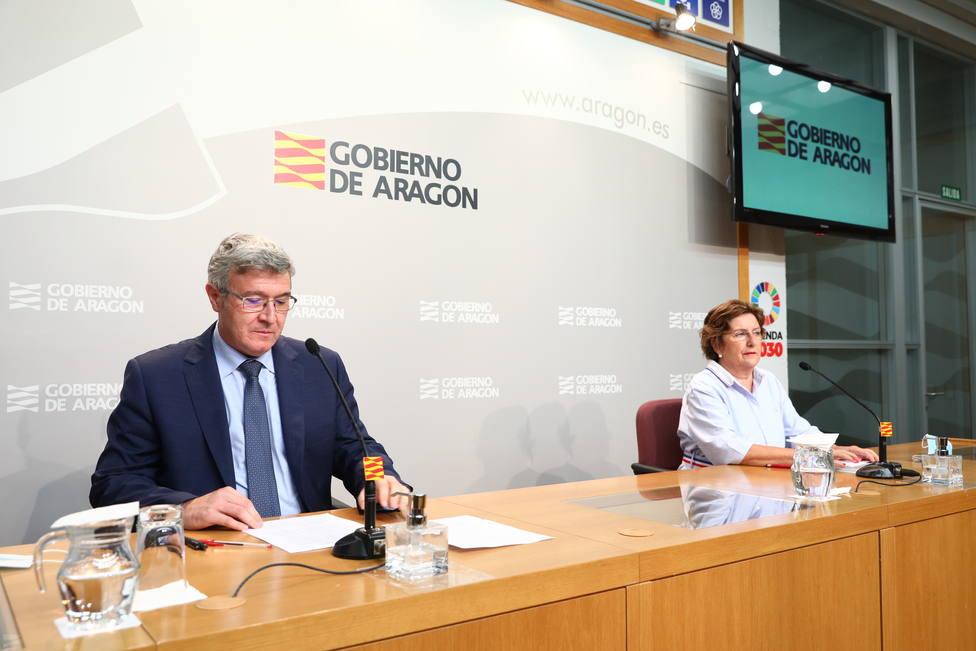 María Victoria Broto y Joaquín Santos