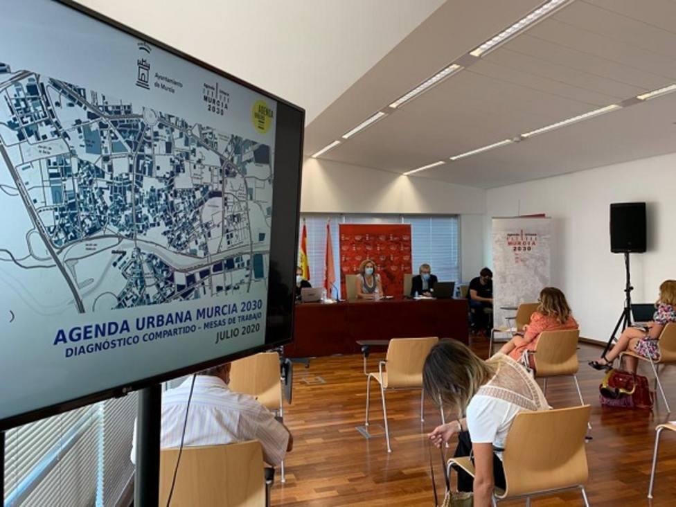 Arrancan las mesas de trabajo del Consejo Social para la elaboración de la Agenda Urbana Murcia 2030