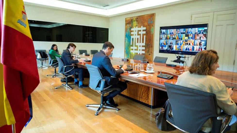 Sánchez convoca la primera conferencia de presidentes presencial el 31 de julio en La Rioja