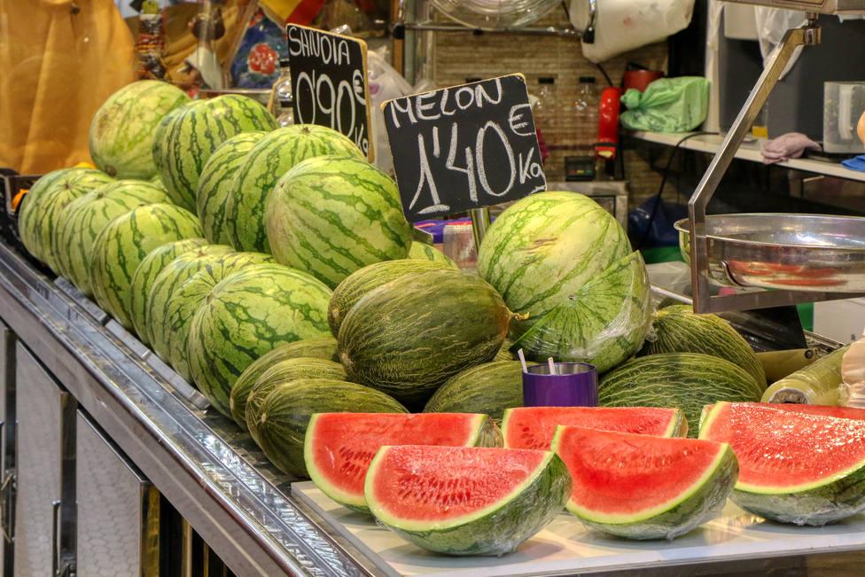 Sandías, melones... el truco infalible para elegir la mejor