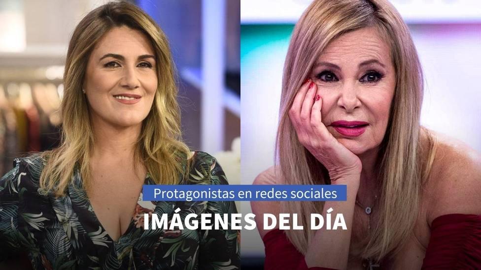 Imágenes del día: el mensaje de Ana Obregón a Alessandro Lequio y el homenaje a Carlota Corredera