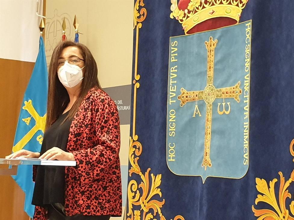 Foto directora general de Igualdad del Principado