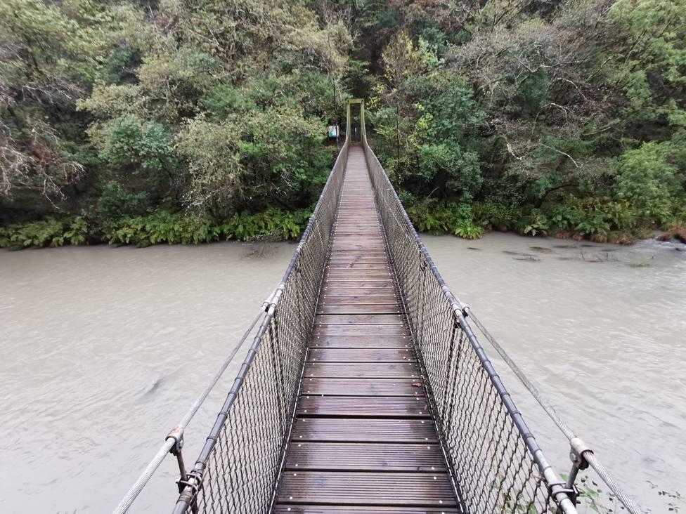 Uno de los puentes sobre el río Eume - FOTO: Colectivo Terra