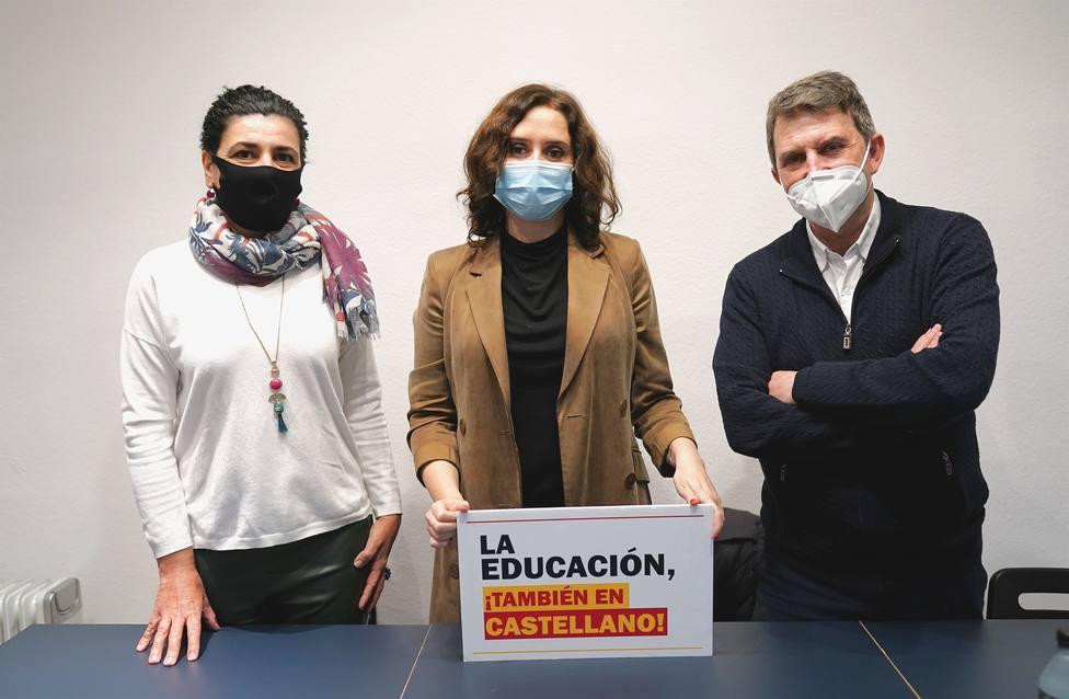 Isabel Díaz Ayuso en Cataluña