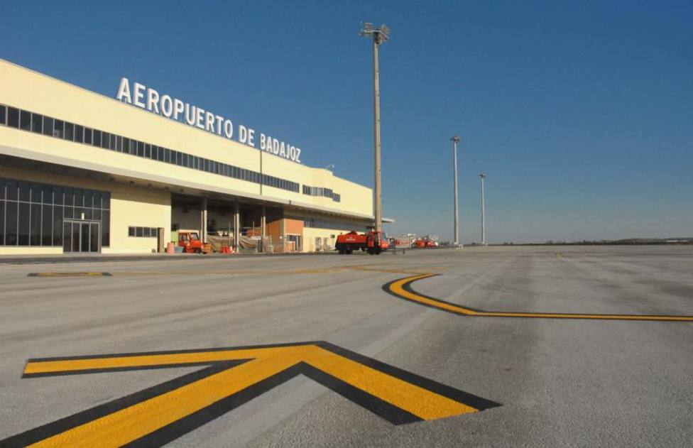 Aeropuerto de Badajoz. Archivo