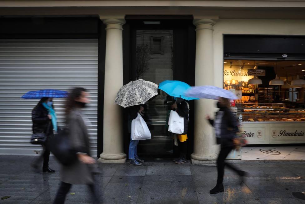 El tiempo en Extremadura: día de lluvia y subida de las temperaturas