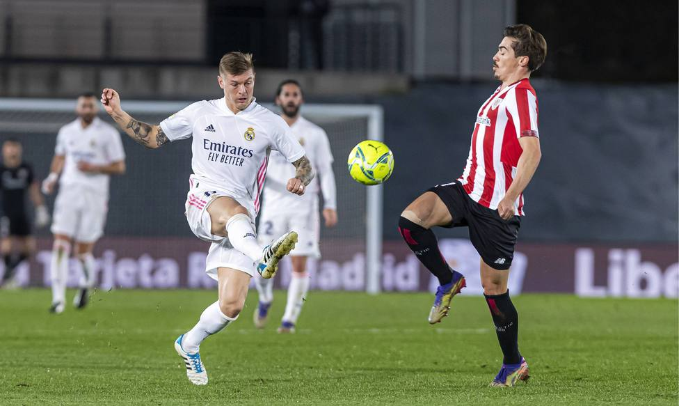 Spanish La Liga soccer mach Real Madrid vs Athletic Bilbao