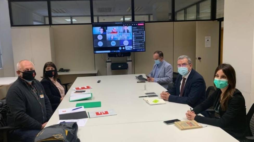 Reunión de la coordinadora de la España vaciada en el Ministerio para el reto demográfico