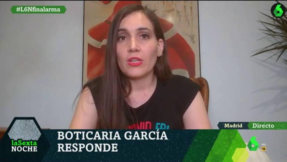 Boticaria García aprovecha LaSexta Noche para alertar de un bulo sobre el coronavirus: Paripé pandémico