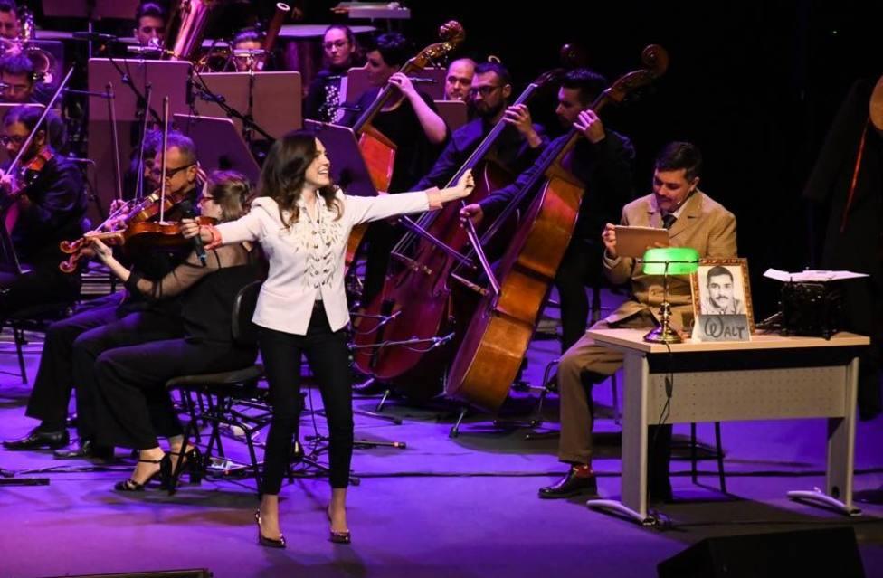 Concha Velasco, Depedro y María Parrado con la OSRM, en los escenarios este fin de semana