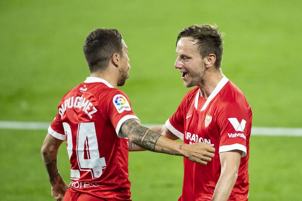 Spanish La Liga soccer match Celta vs Sevilla