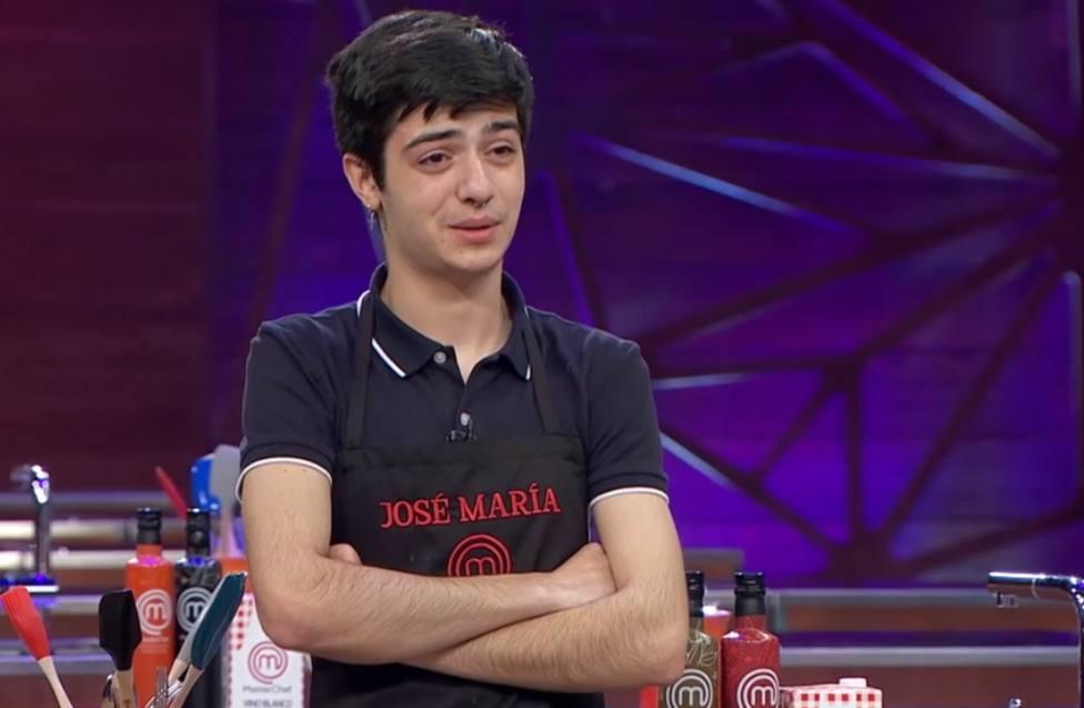 Jose María, el concursante pacense de MasterChef, expulsado en el segundo programa