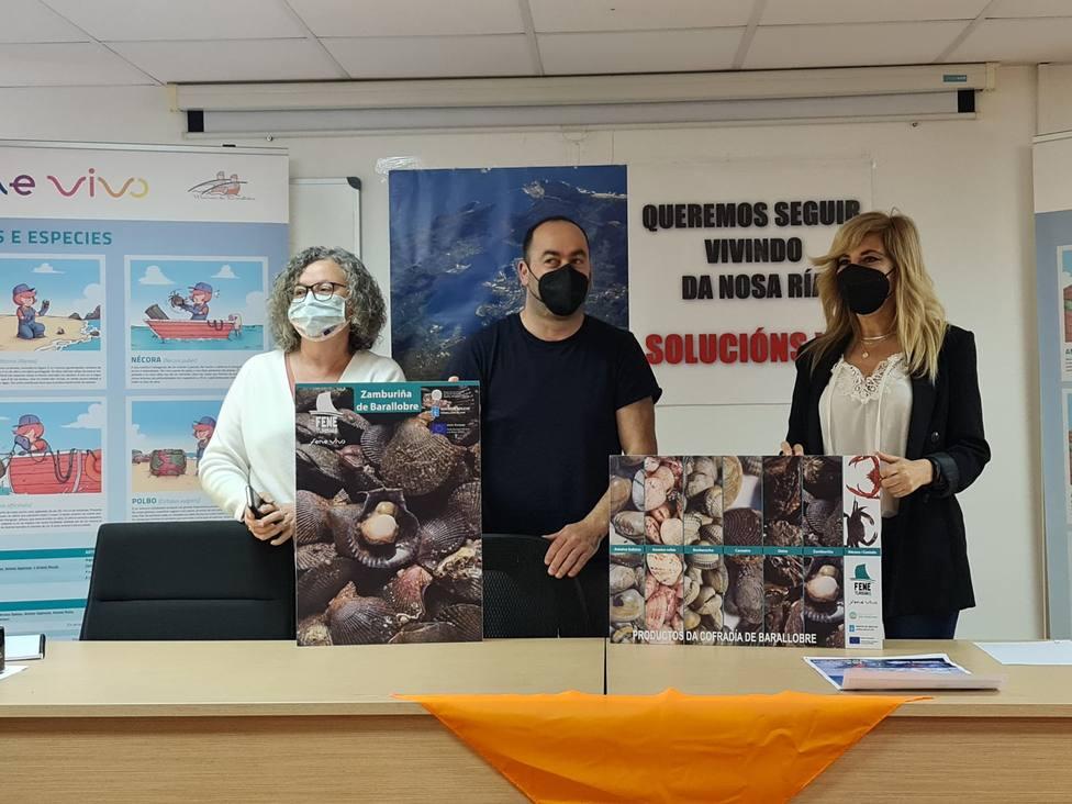 Ana Basoa, Jorge López y María Antonia Fernández hacen balance del proyecto Fene Vivo II. FOTO: Fene