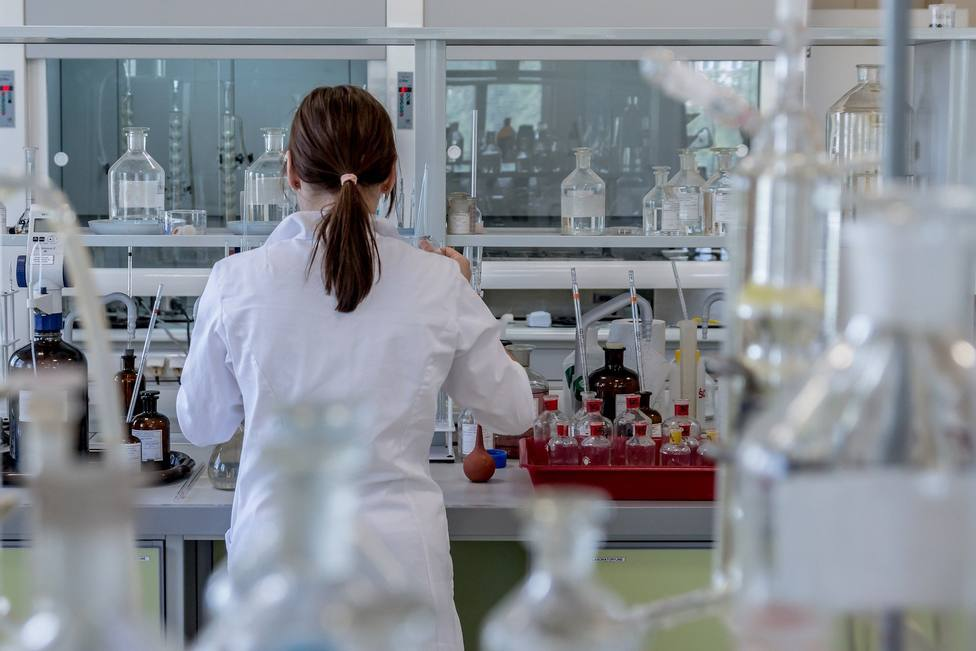 Trabajo en laboratorio
