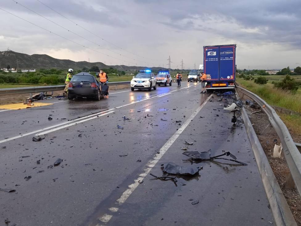 Ocho fallecidos en las carreteras este fin de semana, la mitad motoristas
