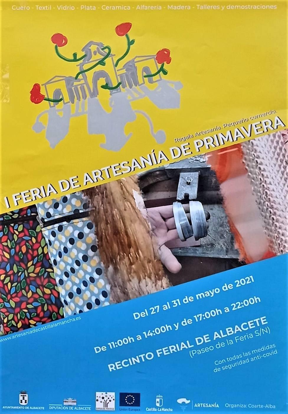 I Feria de Artesanía de Primavera en Albacete