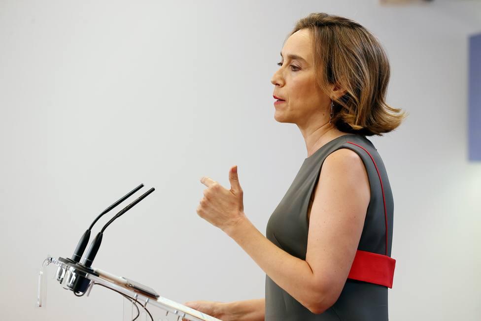 Rueda de prensa de Cuca Gamarra