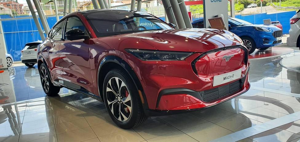 Nuevo Ford Mustang MACH-E 100% eléctrico