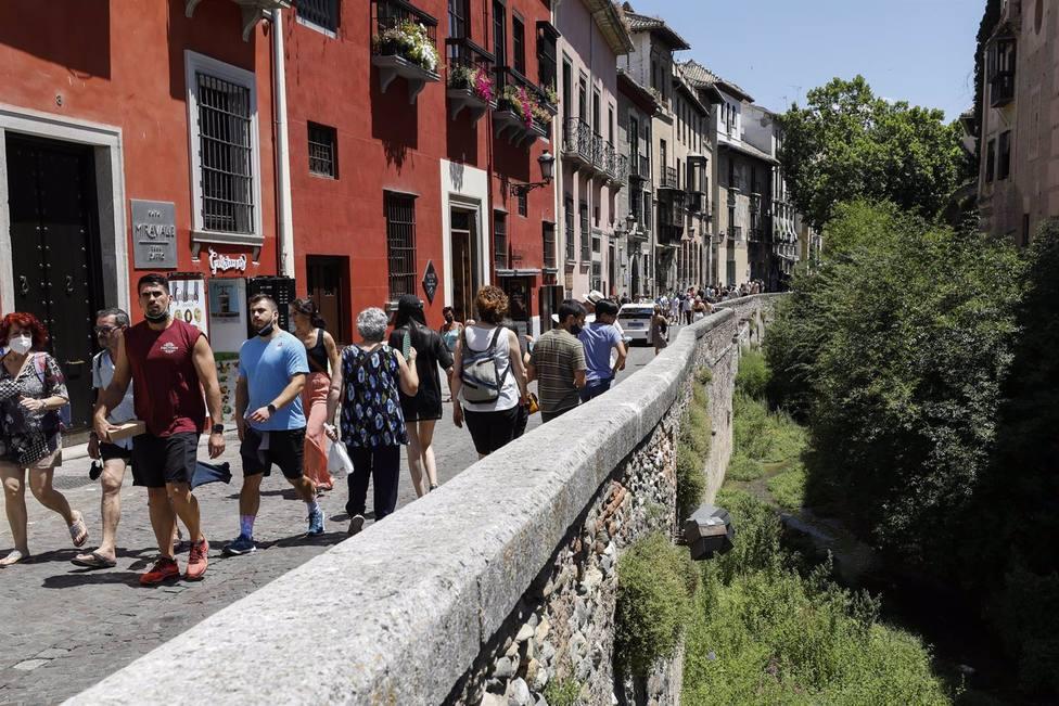 Granada.- Turismo.- Septiembre arranca con una ocupación de hasta el 75 por ciento y predominio del turista nacional