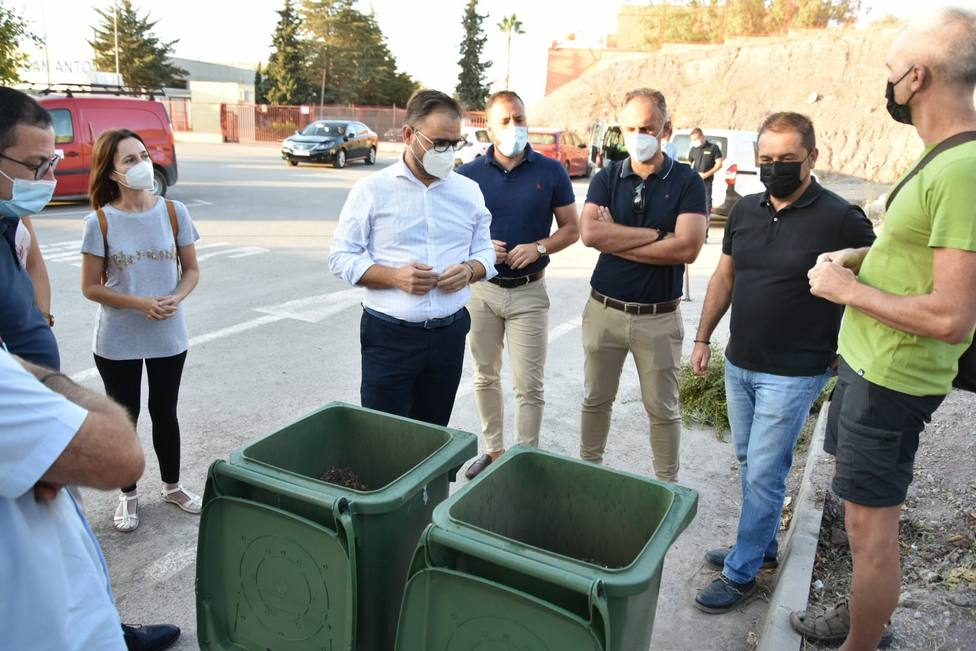 Aledaños IES San Juan Bosco serán repoblados gracias al compostaje de biorresiduos recogidos en el municipio