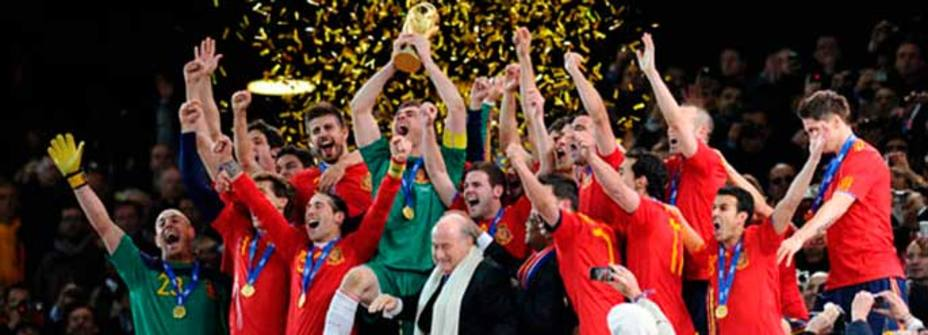 La selección cobrará 720.000 ? en caso de ser campeona del Mundo en 2014. REUTERS