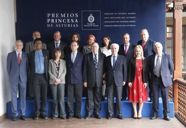 El jurado del Princesa de Cooperación Internacional