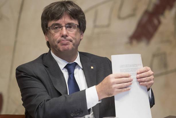 Carles Puigdemont. Archivo