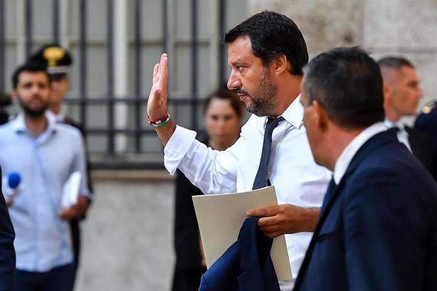 Salvini, tras las expulsiones de inmigrantes en España Si lo hago yo, soy un racista