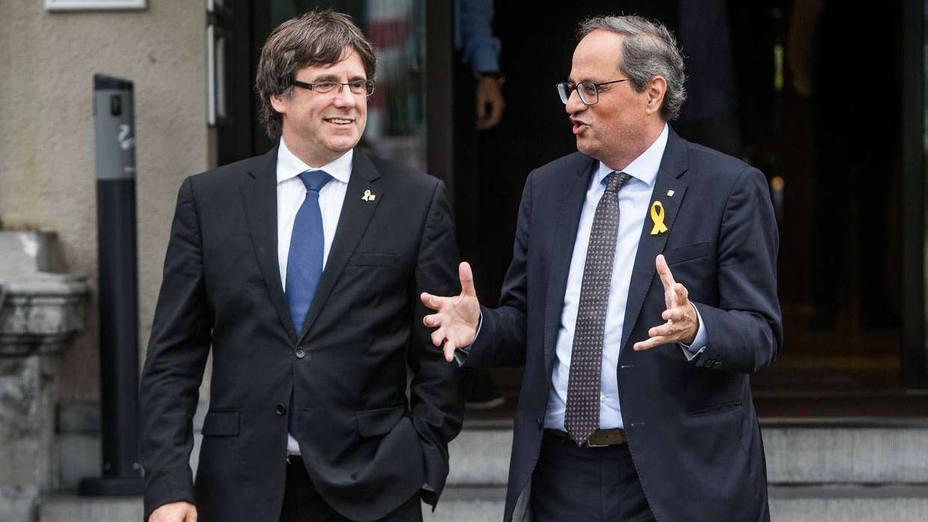 Puigdemont ve gravísimo que el Gobierno pague la defensa de Llarena