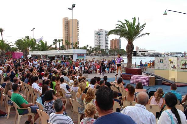 Unas 18.400 personas han asistido a las actividades culturales de verano en el Mar Menor