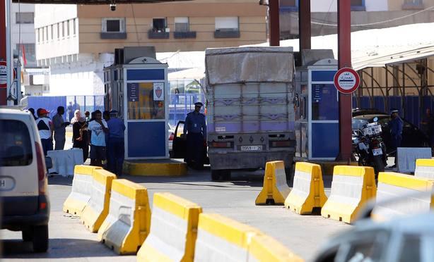 Debatirán el cierre de la aduana en la frontera de Melilla