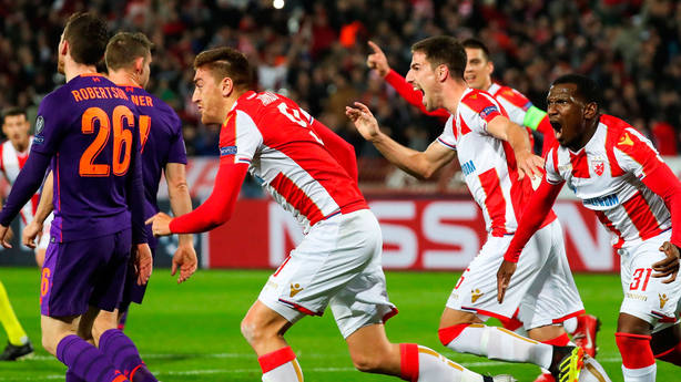 Doblete de Pavkov ante el Liverpool. EFE