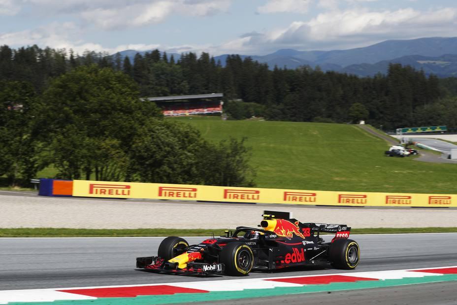 Verstappen lidera los primeros libres y sigue en la línea de México