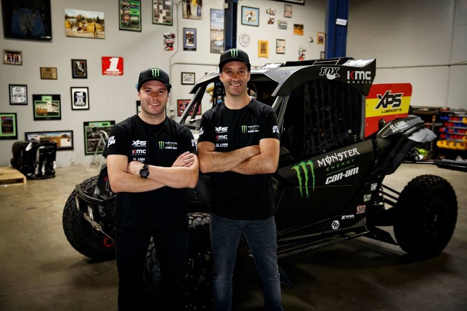 Gerard Farrés, podio en motos en 2017, afronta un nuevo reto en el Dakar con un coche SxS