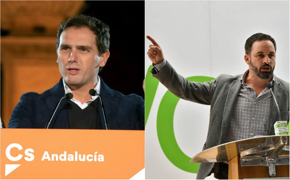 ¿Está dispuesto a pactar Albert Rivera con Vox en Andalucía?