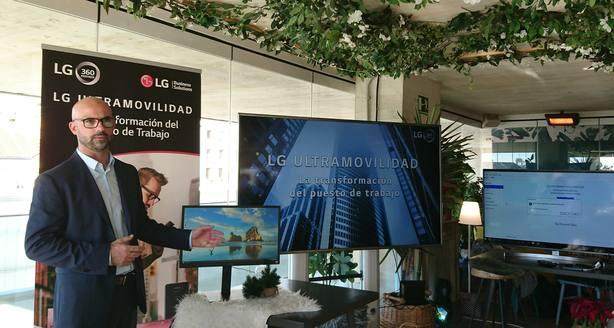 La solución LG Ultramovilidad proporciona un entorno cloud que se adapta a las necesidades de cada empleado