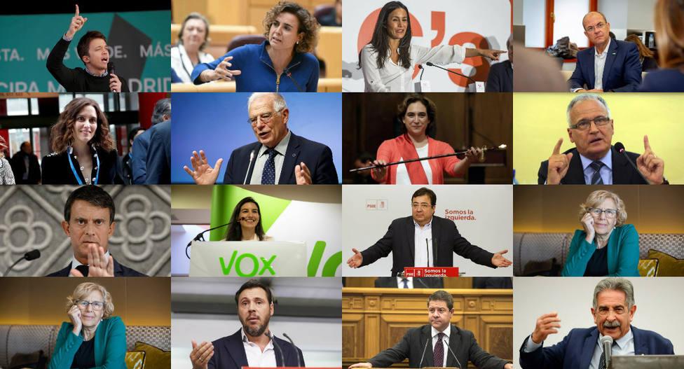 Test de candidatos: ¿Con qué político te identificas más?