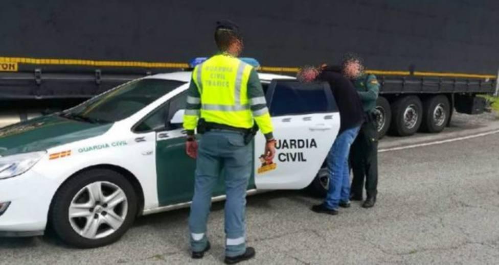 Detienen a un camionero que sextuplicaba la tasa de alcohol permitida