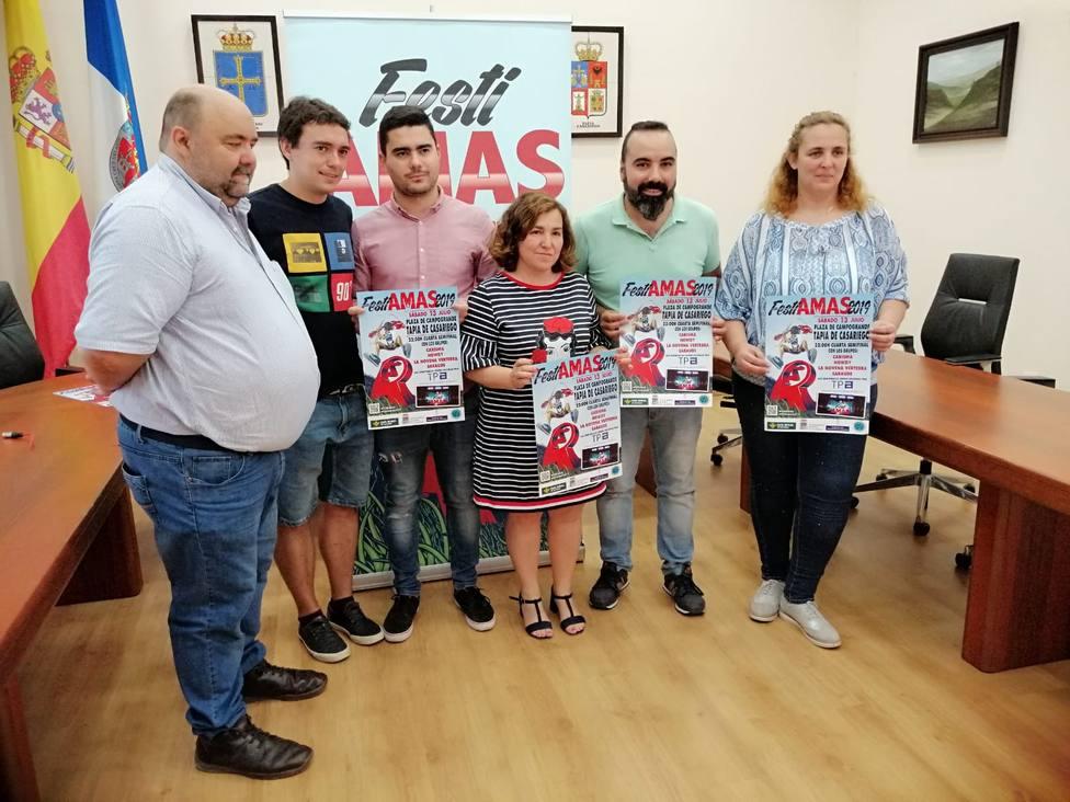 Presentación de la cuarta semifinal de FestiAMAS en eel Ayuntamiento de Tapia de Casariego