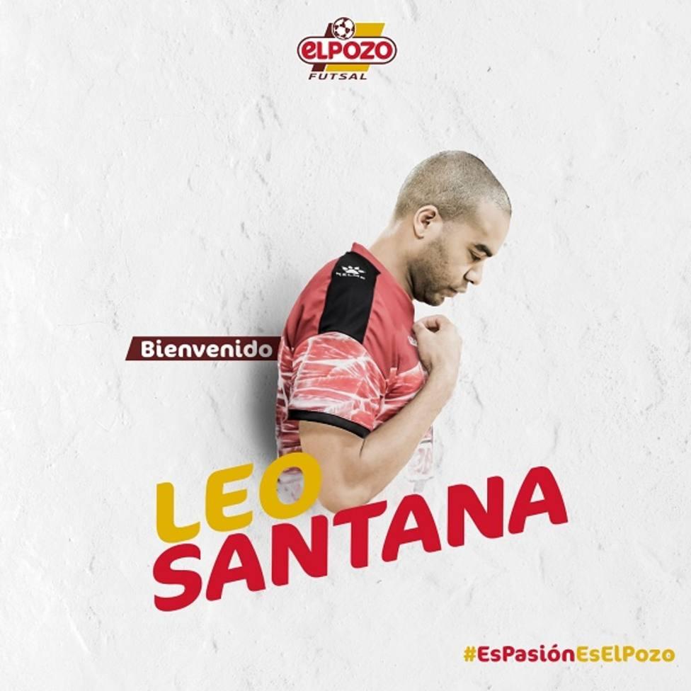 Leo Santana se une al nuevo proyecto de ElPozo Murcia FS