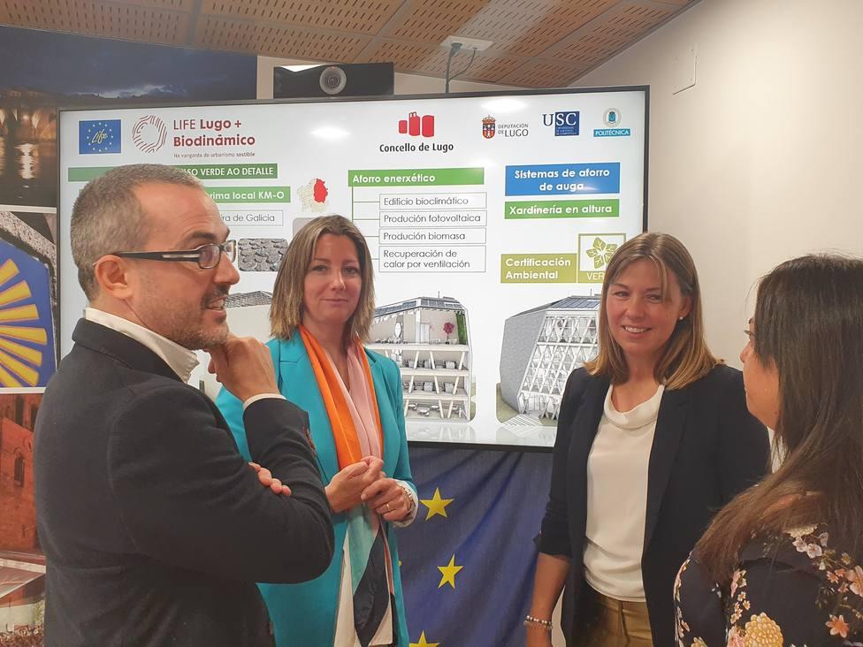 Presentación del edificio Impulso Verde de Lugo
