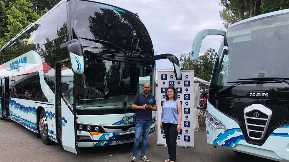 Aida Álvarez de Autocares y Viajes Mariano en COPE Asturias