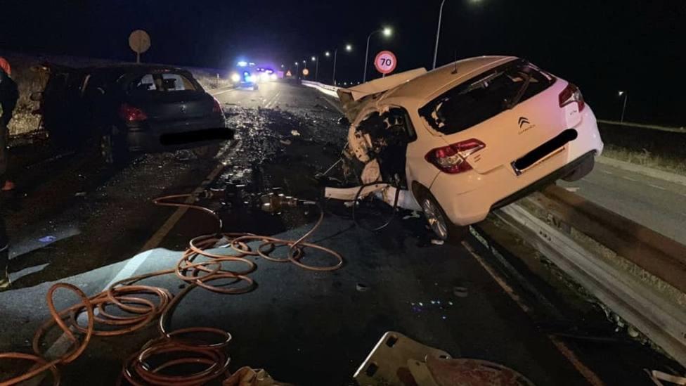 Accidente mortal en Villanueva de la Serena