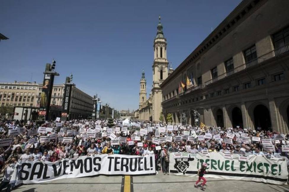 Teruel Existe podría entrar por primera vez en el Congreso de los Diputados