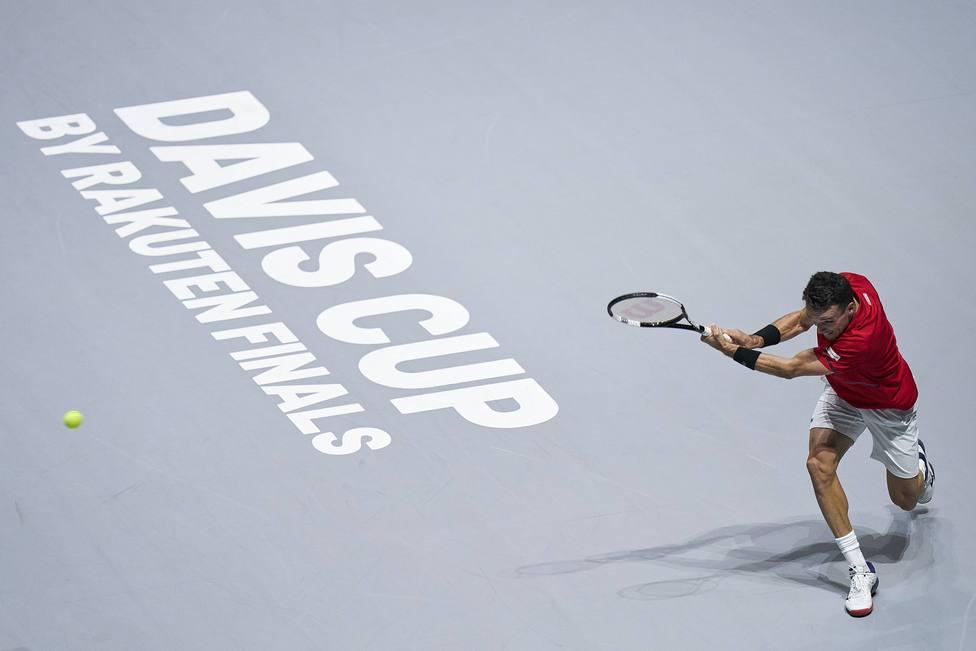 Copa Davis: España vs Rusia. Partido entre Roberto Bautista y Andrey Rublev