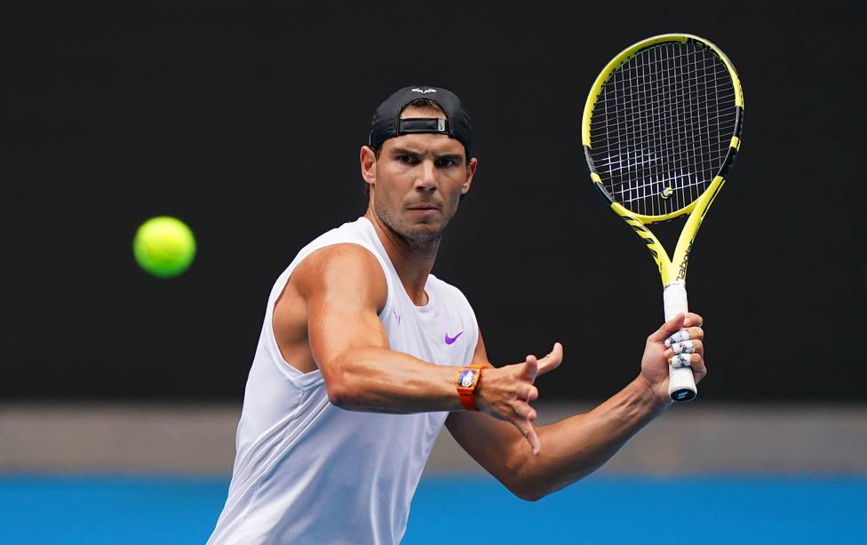 Rafa Nadal debutará en Melbourne ante el boliviano Dellien y tendrá un cuadro duro hasta semifinales