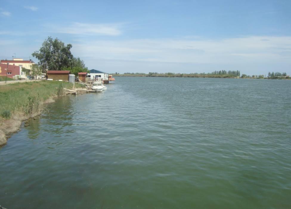 Río Ebro en imagen de archivo