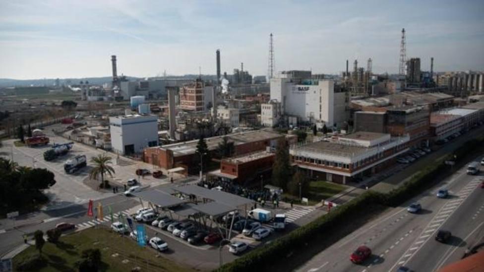 Planta instalada en el polígono industrial de Tarragona