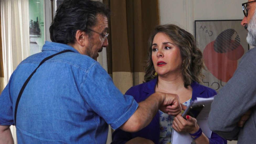Así fue el rodaje de la nueva película de Andrés Garrigó con Karyme Lozano: 'Corazón Ardiente'